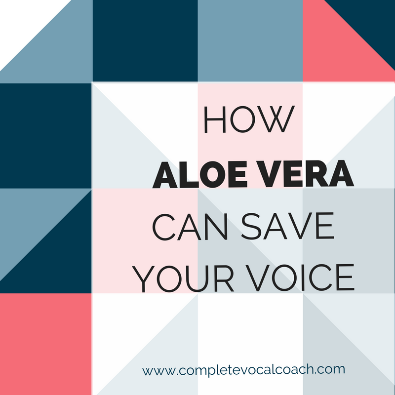 Find out how Aloe Vera can save your voice. Click on to read more!