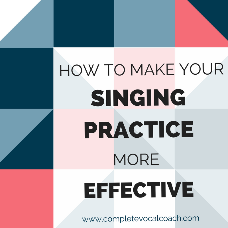 Six tips that will help you make your singing practice more effective. Read on to learn more!