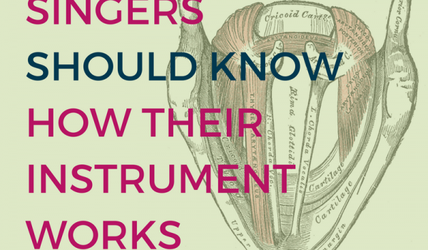 Six Reasons Singers Should Know How Their Instrument Works