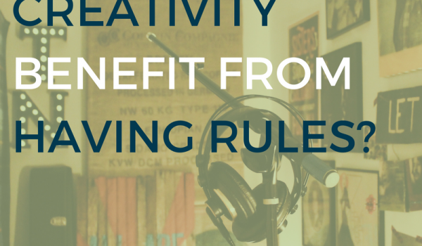 Does Creativity Benefit From Having Rules?